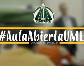 """La Universidad Mesoamericana de Guatemala estrena """"#AulaAbiertaUMES"""" un espacio de diálogo y reflexión"""