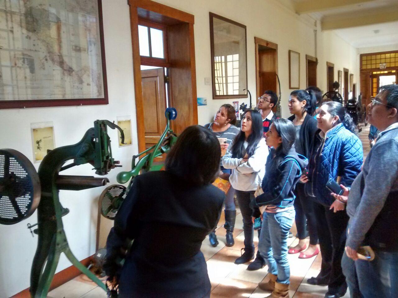 Visita Museo Nacional de la Tipografía Nacional de Guatemala