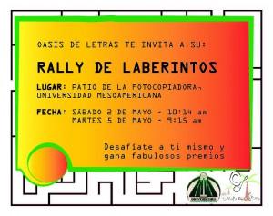 RALLY DE LABERINTOS