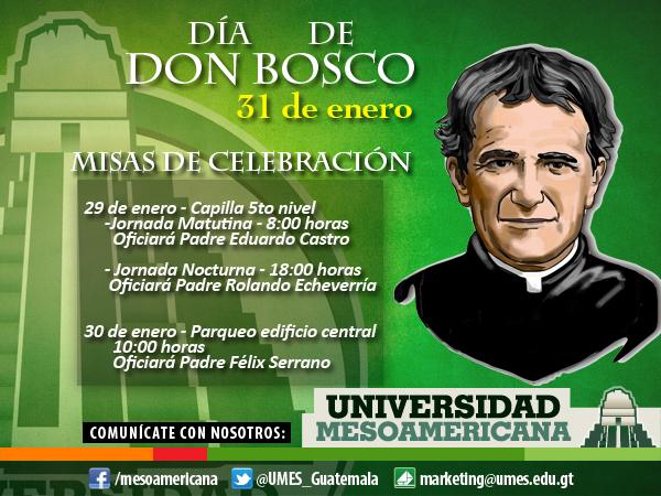 Celebración Día de Don Bosco