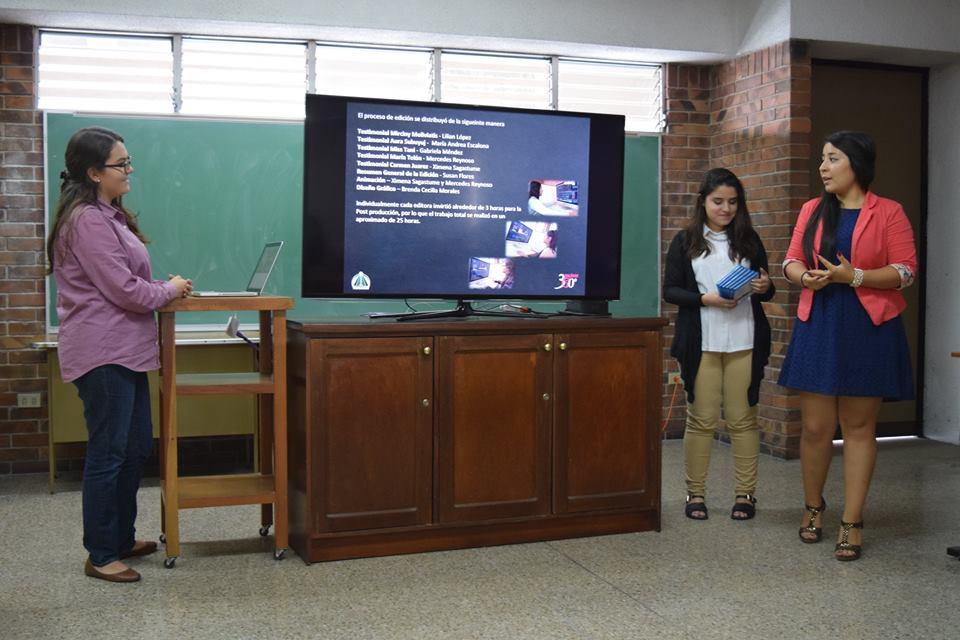 """Presentación Audiovisual       """"Mujeres 360°"""" de Iniciativa T"""