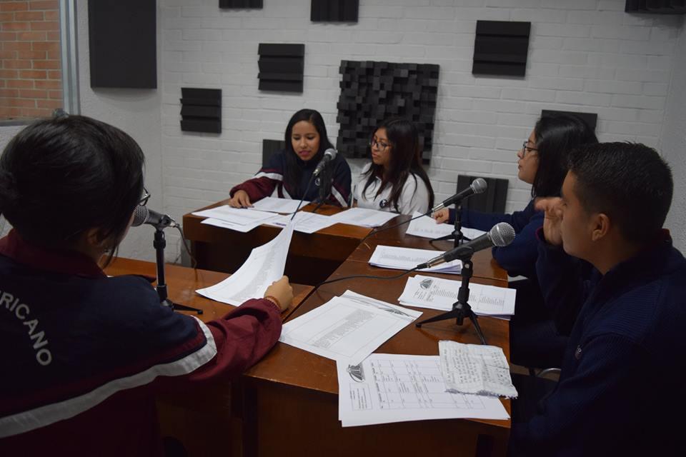 Taller Producción Radial – Colegio Panamericano