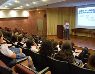 Visita Estudiantes del Colegio Bethania