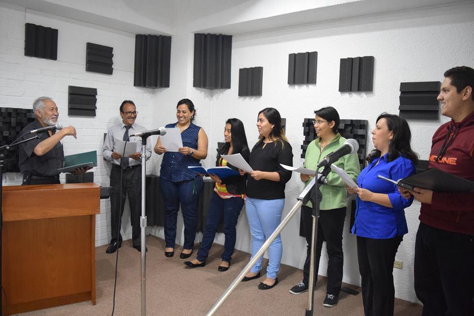 Ensayo Coro Universidad Mesoamericana