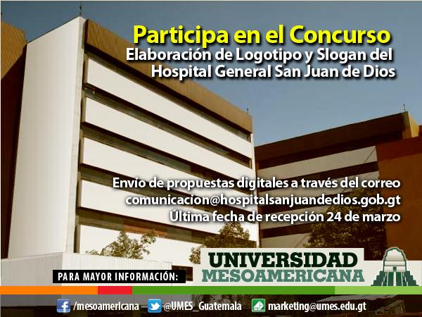 Concurso Logotipo Hospital General San Juan de Dios