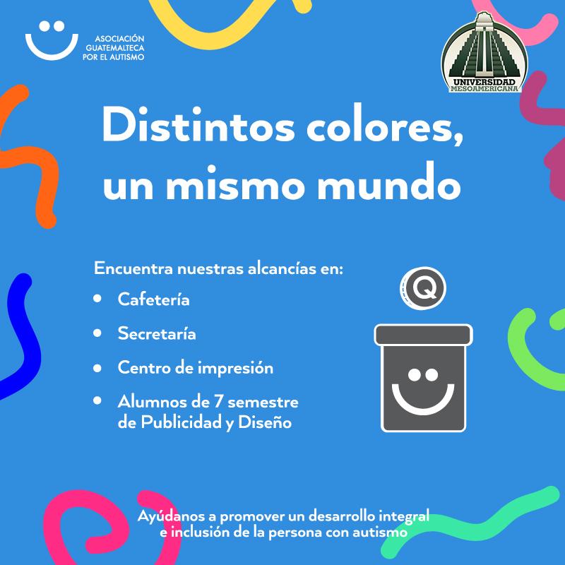 Distintos colores un mismo mundo
