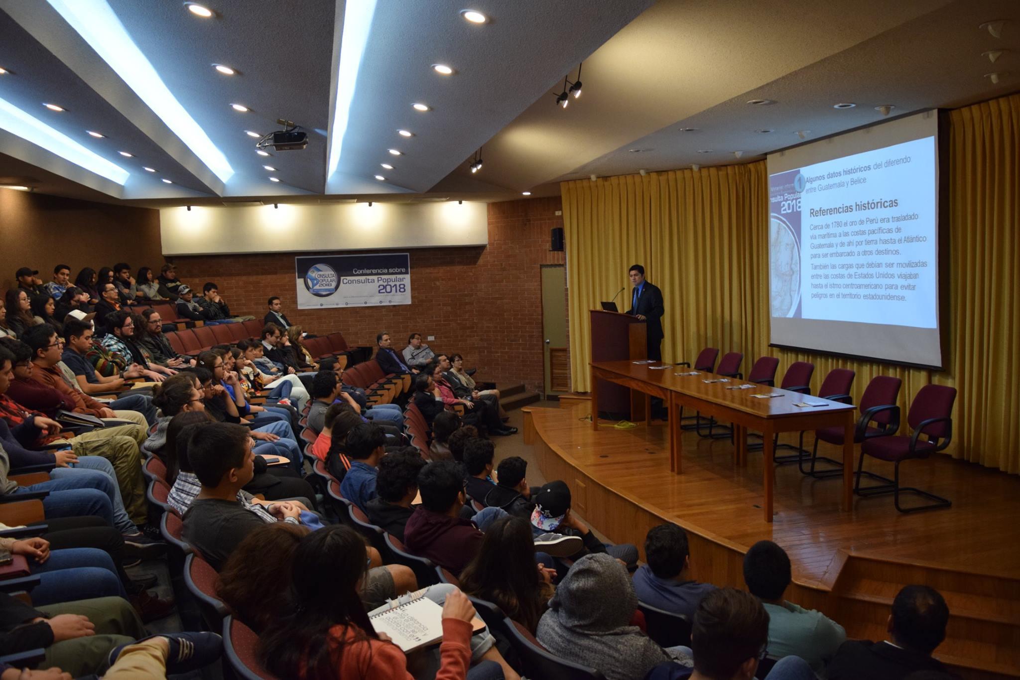 Conferencia – Consulta Popular 2018