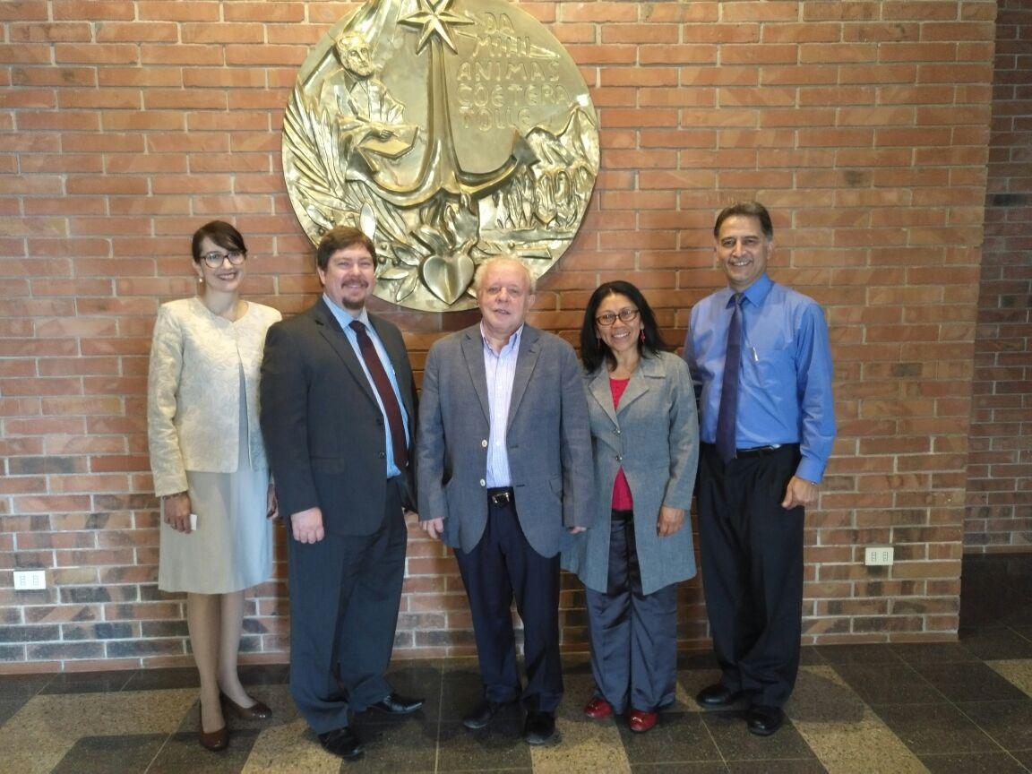 Reunión con Representantes de la Embajada de Estados Unidos